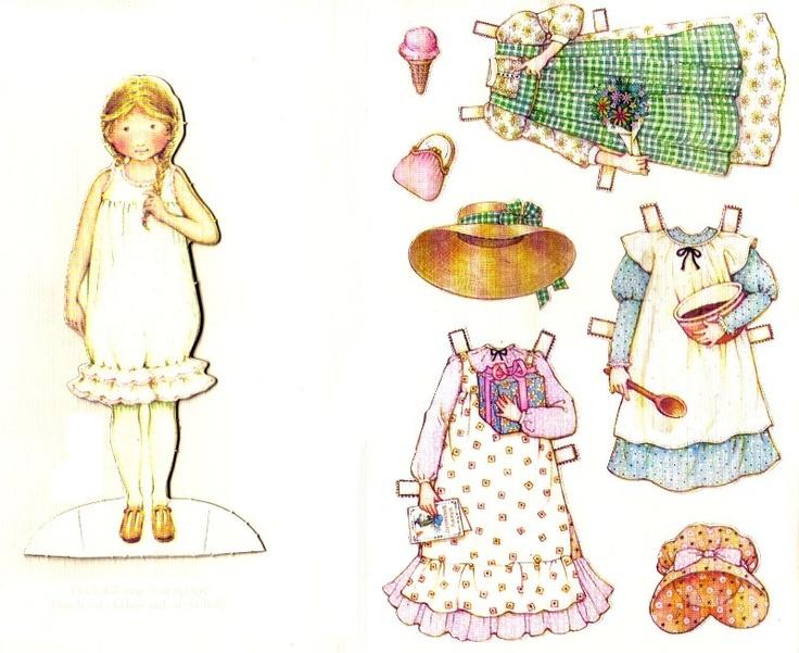 La metafora della bambolina di carta